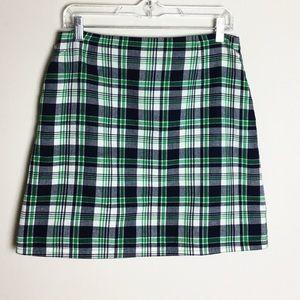 Anthropologie | 1818 Checkered Skirt
